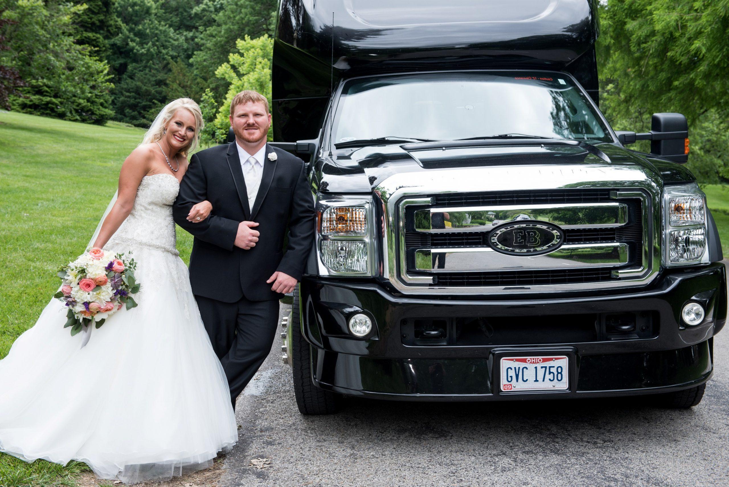 Wedding Motortoys Limo Party Bus Cincinnati
