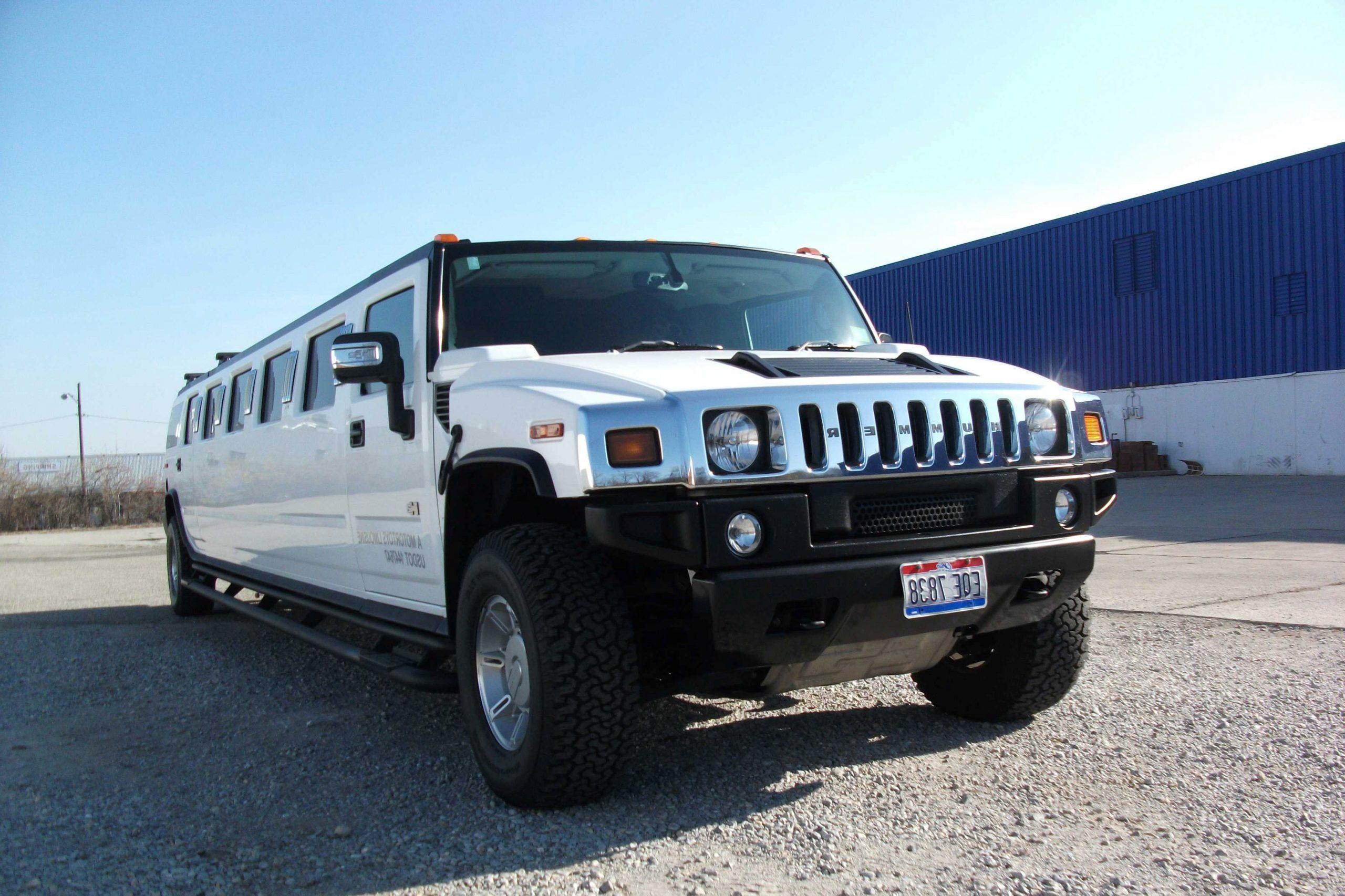Unit 04 H2 Hummer Limousine Motortoys Limo and Party Bus Cincinnati