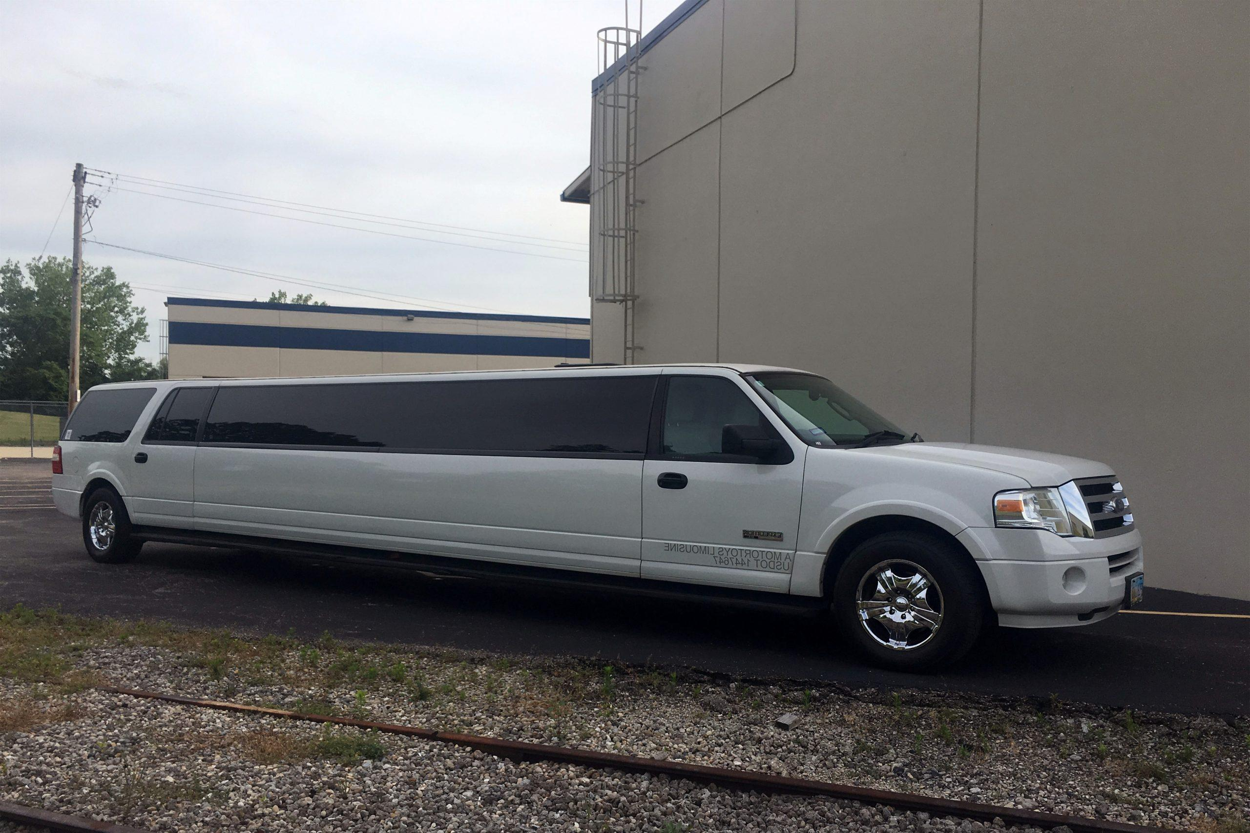 Unit 27 Ford Expedition Limo Motortoys Limo and Party Bus Cincinnati